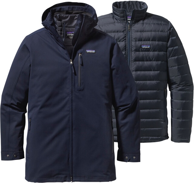 Patagonia M's Tres 3-in-1 Parka Navy Blå